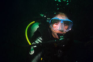 Night Diver PADI Dive Courses Pattaya